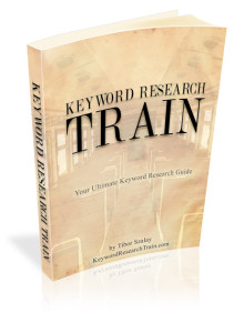 Book cover, product image for Tibor Szalay's Keyword Research Train